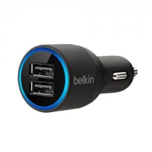 Автомобильное зарядное устройство Belkin Dual USB Charger F8J109bt
