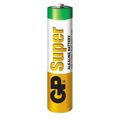 Батарейка щелочная AAA (24G, LR03) GP Super Alkaline 1.5V
