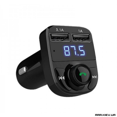 FM модулятор автомобильный Car X8 Bluetooth