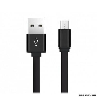 Кабель USB 2.0 / microUsb 0.2m Cebec Metall