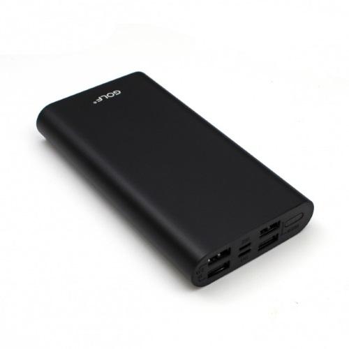 Портативное зарядное устройство GOLF Power Bank 15000 mAh Edge 15 Li-pol
